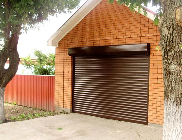 роллетные роллерные рулонные гаражные ворота